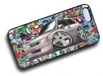 Koolart STICKERBOMB STYLE Design For Retro Vauxhall Nova GTE Hard Case Cover Fits Apple iPhone 4 & 4s